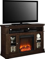 Dorel Brooklyn Electric Fireplace TV Console