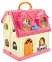Fisher-Price Little People Surprise and Sounds Home Playset - English Edition