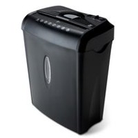 6 Sheet Cross-Cut Paper and Credit Card Shredder