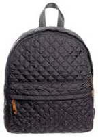 George Women's Quilted Backpack Black