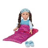 My Life As Doll Sleeping Bag, 18 inch