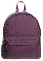 George Women's Quilted Backpack Purple