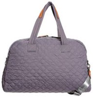 George Women's Quilted Duffle Bag Grey