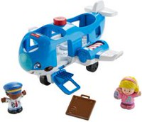 Fisher-Price Little People Avion Petits voyageurs – Édition anglaise