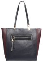 George Women's Multi Tone Tote Bag Navy Multi
