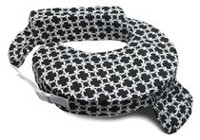 My Brest Friend - Cotton Nursing Pillow - Black Marina
