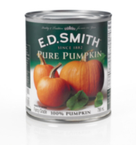 E.D. Smith 100% Pure Canned Pumpkin