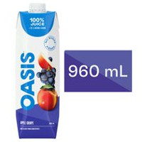 Oasis Apple Grape Juice