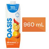 Oasis Pure Breakfast Orange Juice