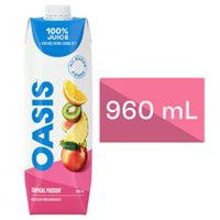 Oasis Tropical Passion Juice