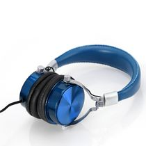 blackweb Flat Folding Premium Series Over-Ear Headphones Blue