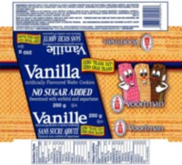 Voortman No Sugar Added Vanilla Wafer Cookies
