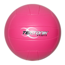 Ballon de volleyball Spiker de Tektonik Sports - rose