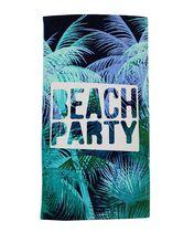 MAINSTAYS BEACH TOWEL -- Beach Party