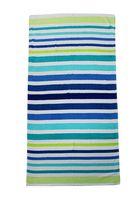 MAINSTAYS BEACH TOWEL-- Stripe Cool