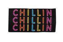 MAINSTAYS BEACH TOWEL-- Chillin