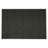 Mainstays Platinum Rubber Back Charcoal Mat