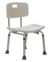 1med Adjustable Bath Seat with Back