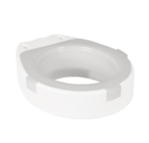 1med Toilet Seat Adapter with Splash Guard- Round Shape