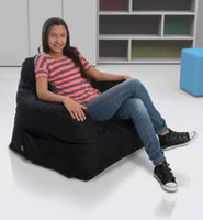Lounge & Co Club Foam Chair- Extra Large, Black