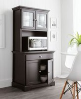 MAINSTAYS Kitchen Armoire - Black