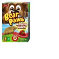 Dare Bear Paws Morning Snack Cereal & Strawberry Cookies