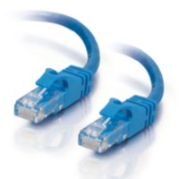 14ft Cat6 550 MHz Snagless Patch Cable - Blue