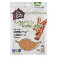 Club House Organic Ground Cinnamon Powder