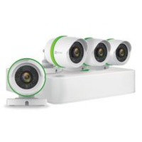 Ezviz 8 Channel 1TB DVR Security System with 4 Weatherproof 720p Bullet Cameras