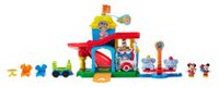 Fisher-Price Little People Magic of Disney Magical Day at Disney Playset
