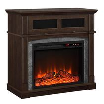 Dorel Thompson Place Electric Fireplace TV Stand