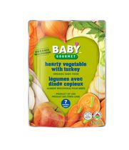 Baby Gourmet Foods Inc Hearty Vegetables with Turkey Organic