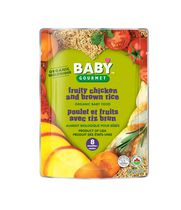 Baby Gourmet Fruity Chicken and Brown Rice