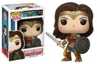 Funko POP! Heroes: DC Comics- Wonder Woman - Sword and Shield Wonder Woman Vinyl Figure