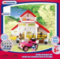 Kid Connection Stable Building Set