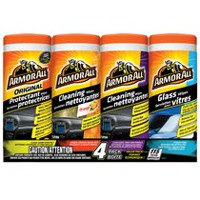 Armor All® 4 Pack Wipes
