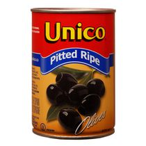 Unico Med Black Pitted Olives