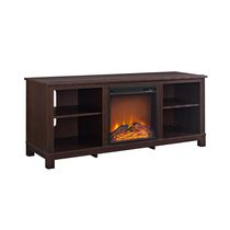 Dorel Edgewood TV Console Electric Fireplace Espresso