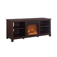 buy fireplaces online walmart canada Costco TV Stand Fireplace Combo Barn Wood Electric Fireplace