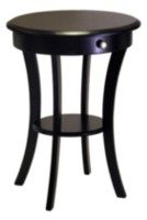 Sasha accent table Black