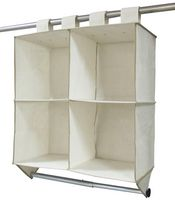 Mainstays 4-Shelf Organizer With Bar