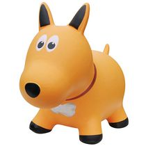 Farm Hoppers Animal Bouncers Dog, Yellow