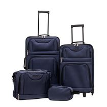 Travelway Group International JetStream 4 Piece Luggage Set