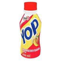 Yop by Yoplait Strawberry-Banana Drinkable Yogurt