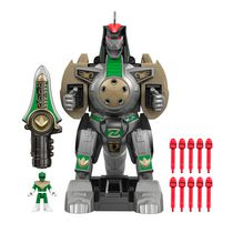 Fisher-Price Imaginext Power Rangers Green Ranger & Dragonzord RC Toy Vehicle