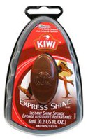 Kiwi Express Shine Brown Instant Shine Sponge