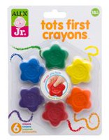 Alex Toys Jr. Tots First Coloured Crayons