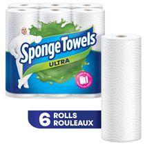 SpongeTowels Ultra Choose-A-Size 6's 2Ply Paper Towel