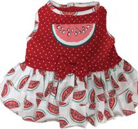 PMP Watermelon Print Dog Dress