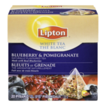 Lipton® Blueberry and Pomegranate White Tea Bags